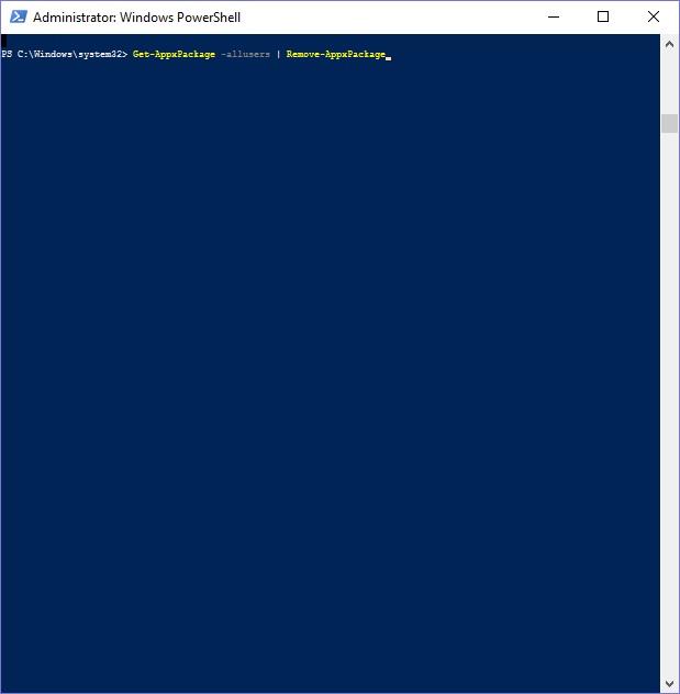 Hướng dẫn gỡ bỏ các Built-in Apps mặc định trên Windows 10